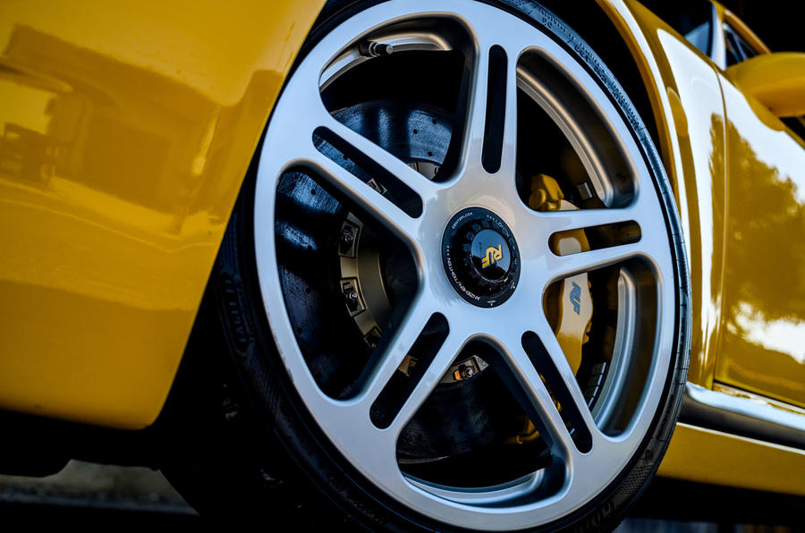 5 RUF CTR 2020 : première révision des roues en alliage