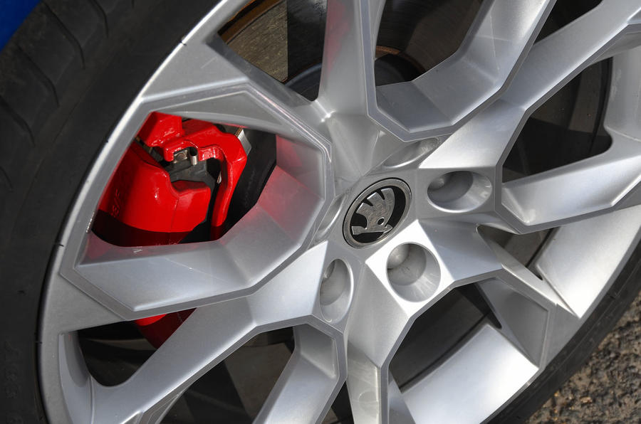 Skoda Octavia vRS diesel longterm review brake calipers