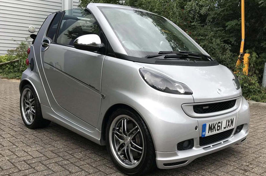 Smart Fortwo Brabus - front