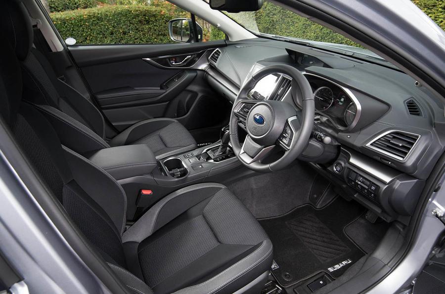 Subaru Impreza 2018 UK review interior