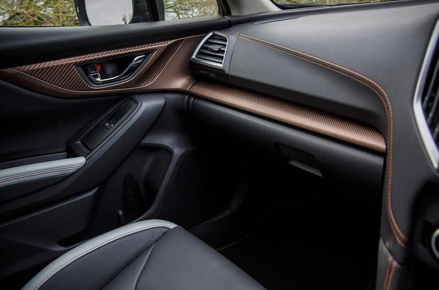 Subaru XV e-Boxer 2020 UK first drive review - interior trim