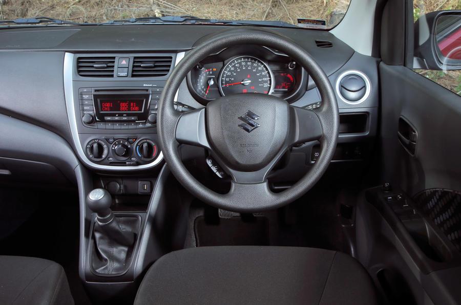 Suzuki Celerio - interior