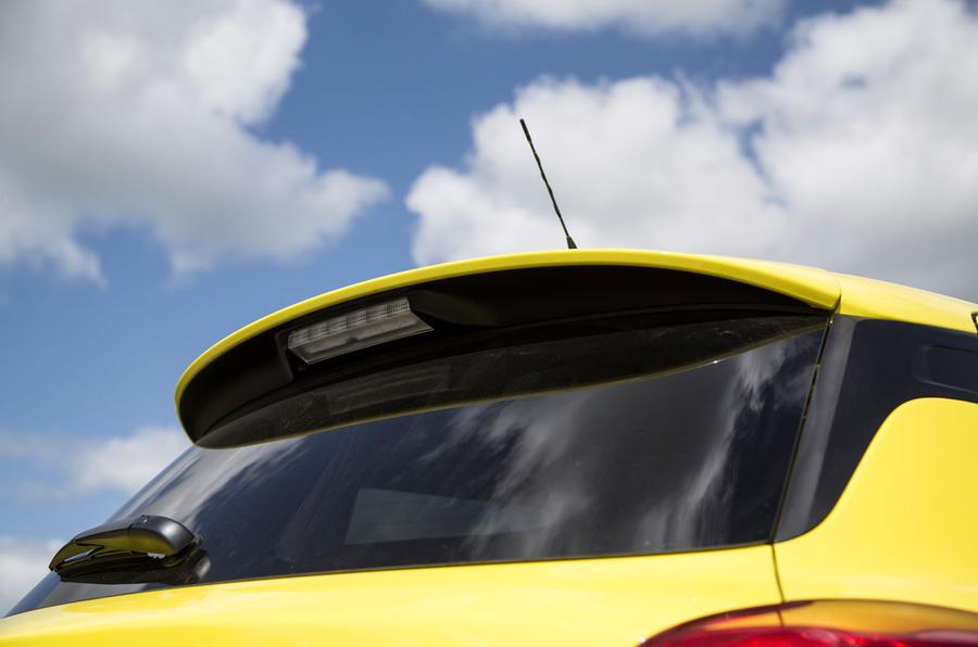 Suzuki Swift Sport 2018 long-term review spoiler