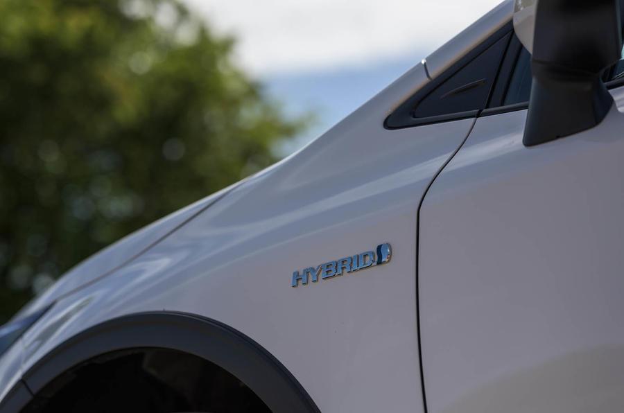 Toyota Corolla Trek 2020 UK first drive review - side badge