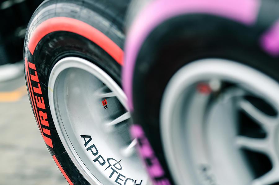 Pirelli racing tyres