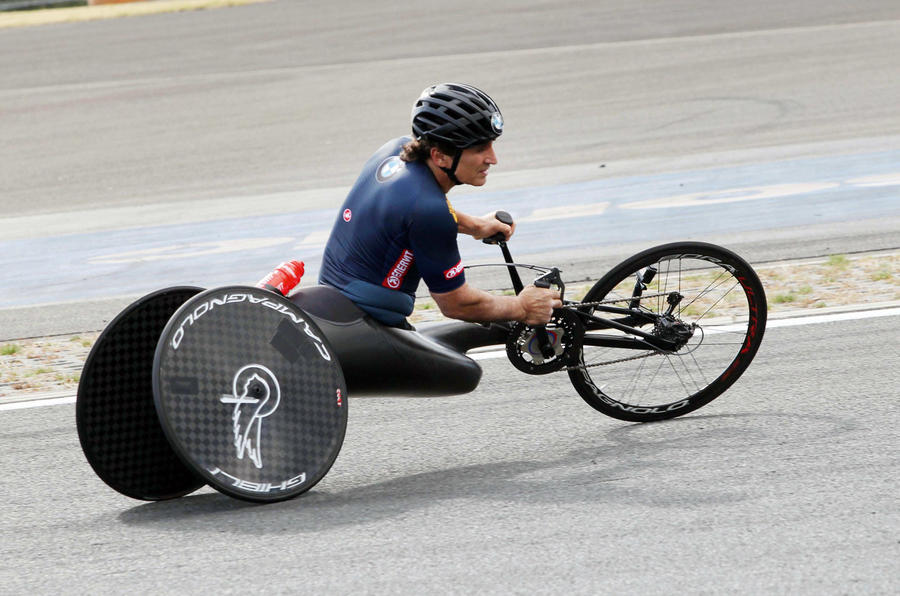 USOC Paralympic wheelchair - hero side