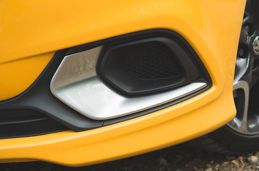 Vauxhall Corsa GSi 2018 UK first drive review front bumper