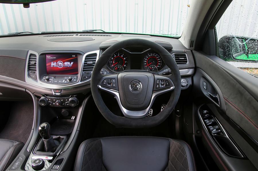 Vauxhall VXR8 - interior