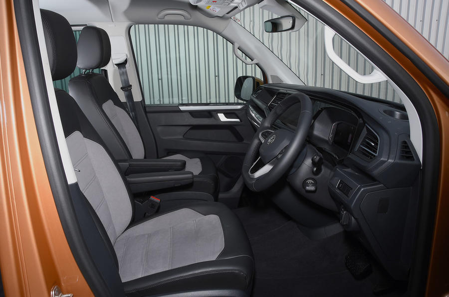 Volkswagen Caravelle 2020 UK first drive review - cabin