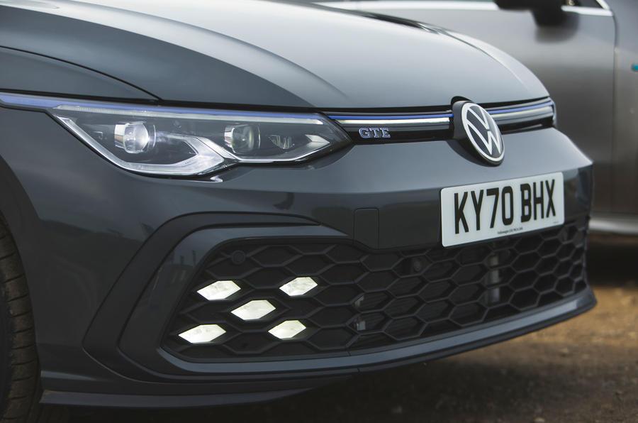 Volkswagen Golf GTE 2020 : premier bilan de conduite au Royaume-Uni - phares