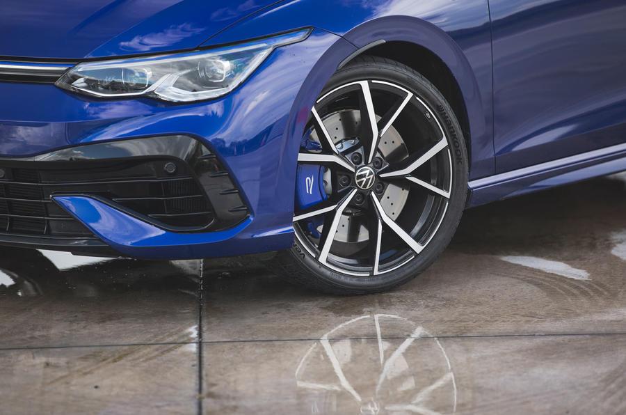 5 Jantes en alliage Volkswagen Golf R performance pack 2021 UE FD