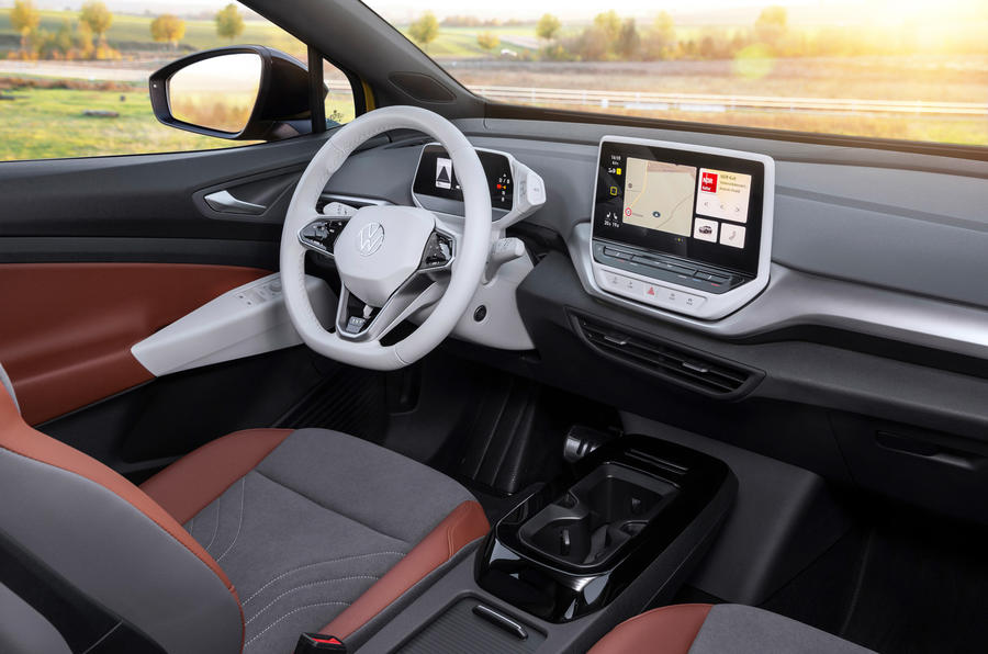 Volkswagen ID 4 2021 first drive review - dashboard
