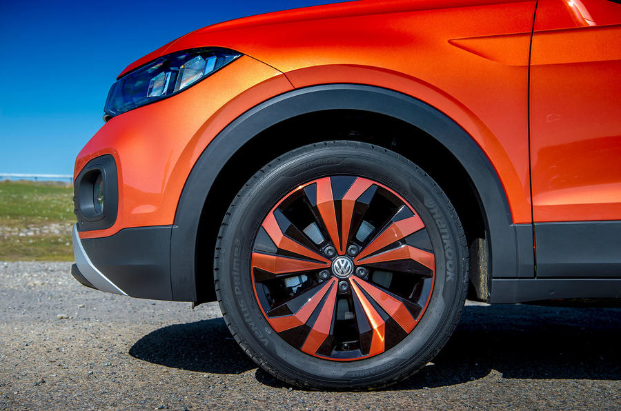 Volkswagen T-Cross 2019 UK first drive review - alloy wheels