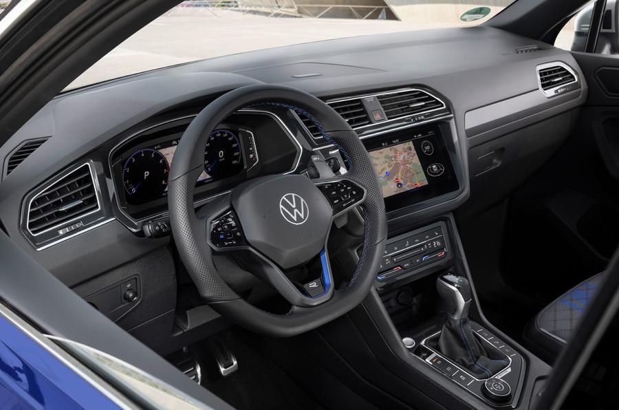 Volkswagen Tiguan R 2020 : premier bilan de conduite - tableau de bord