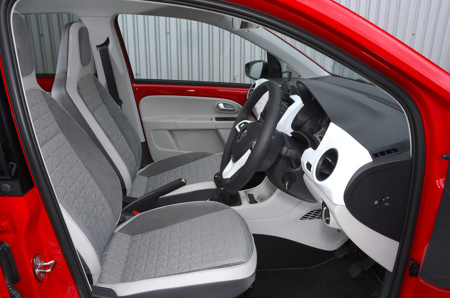 Volksawgen Up 1.0 2020 UK first drive review - cabin