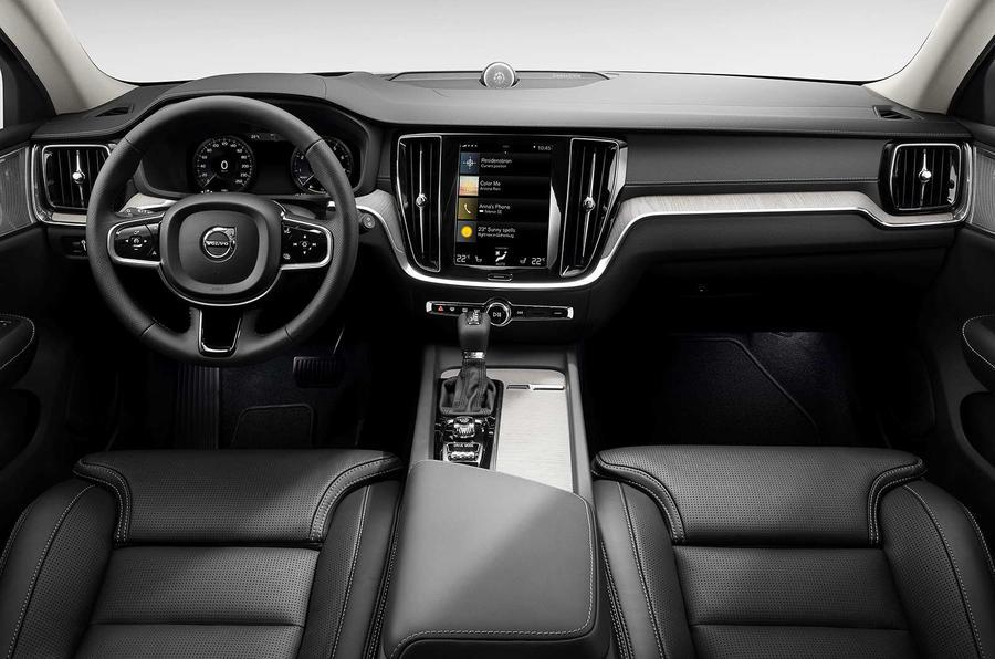 Volvo V60 2018 review interior