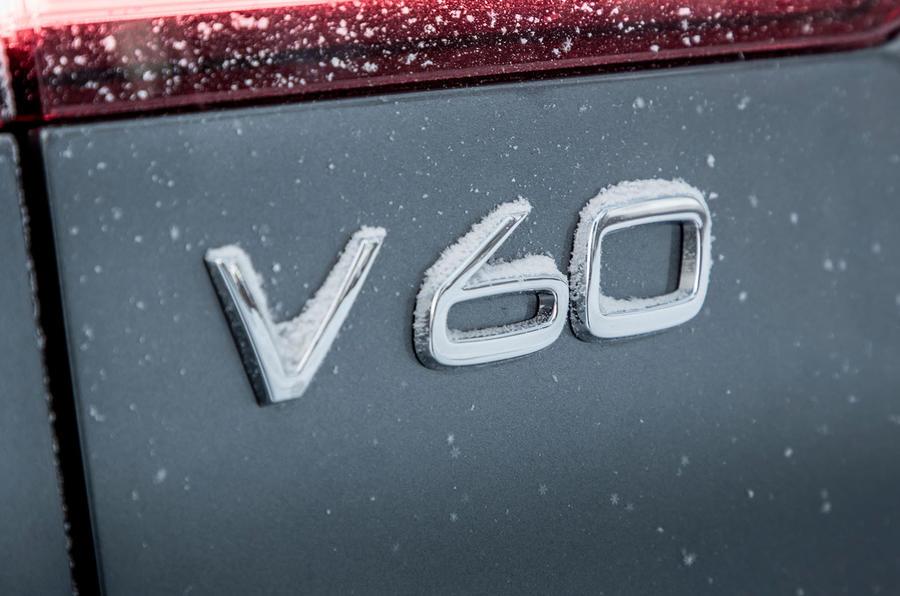 Volvo V60 Cross Country 2019 first drive review - model badge