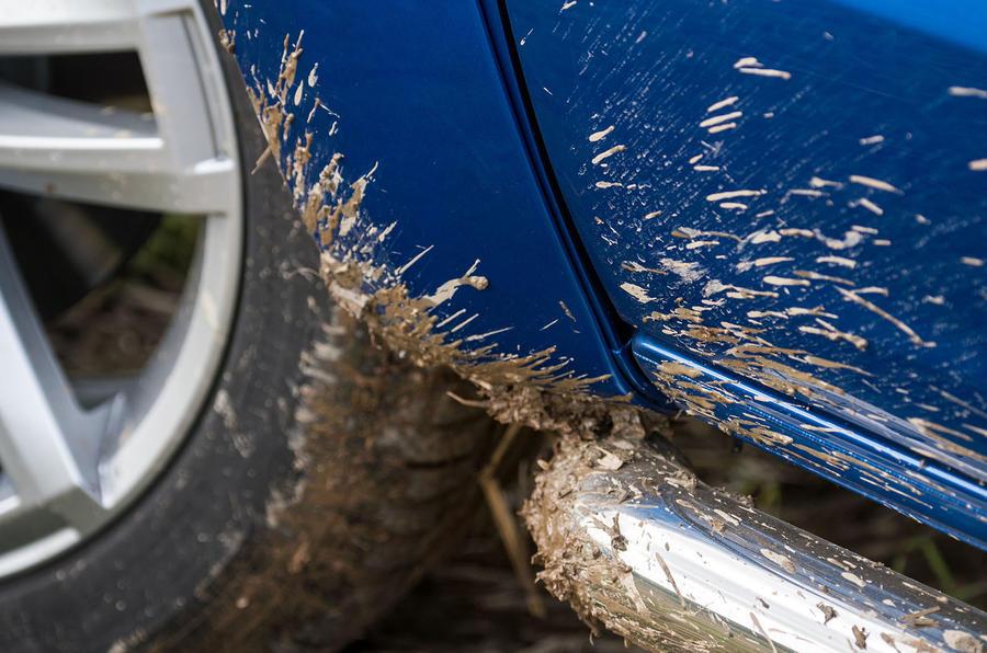 Volkswagen Amarok V6 2018 UK review mud