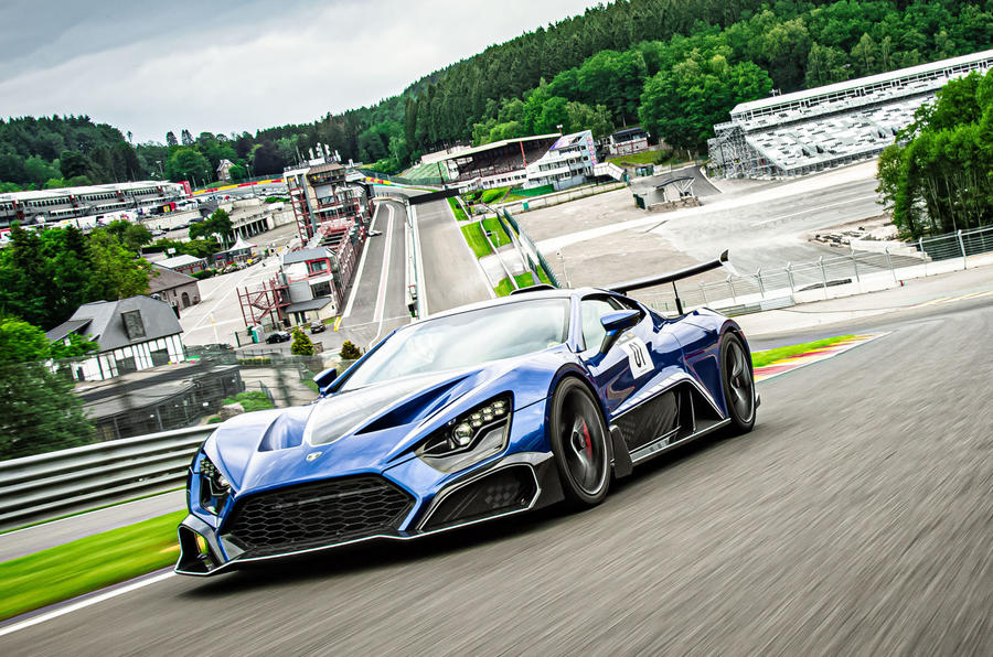 Zenvo TSR-S 2019 first drive review - Eau Rouge