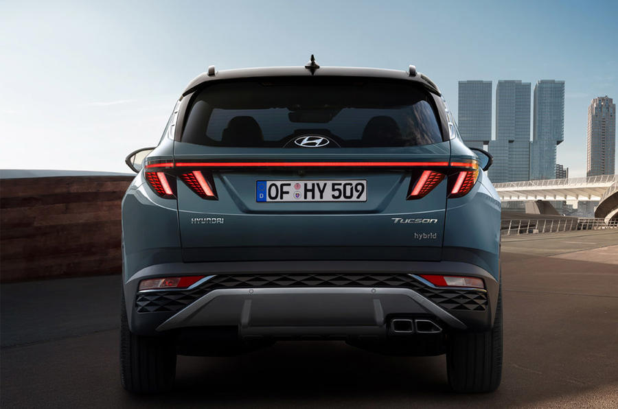 Hyundai Tuscon - rear