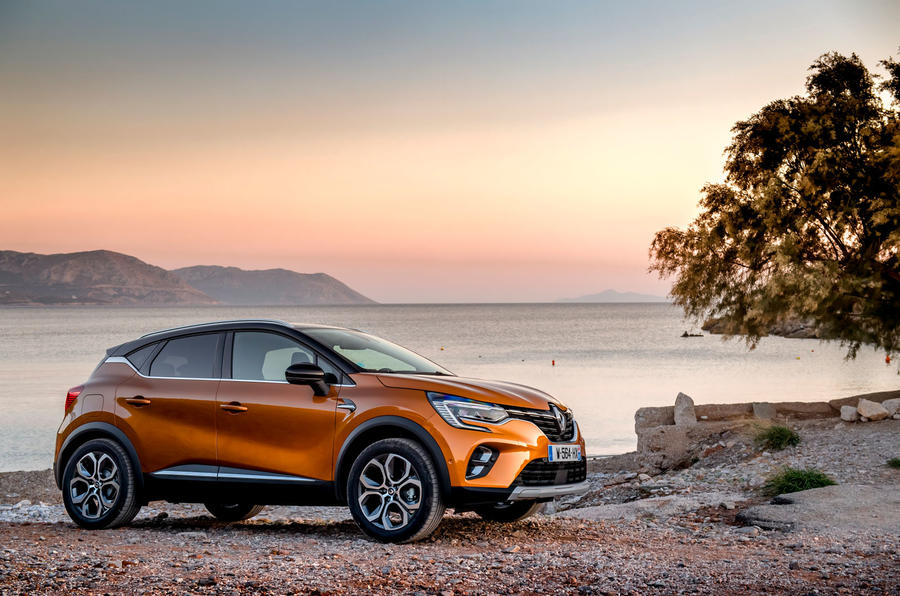 Renault Captur 2019 first drive review - static front