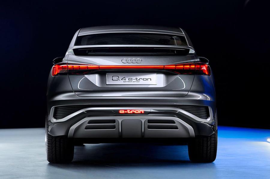 Audi Q4 E-tron - static rear