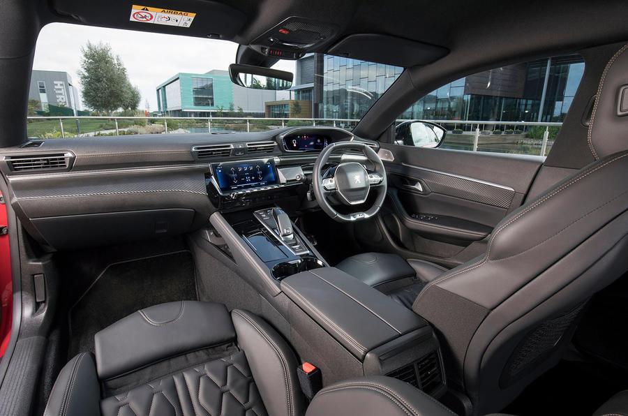 Peugeot 508 cabin