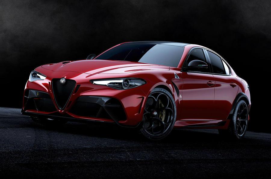 Alfa Romeo Giulia GTA 2020 - stationary front