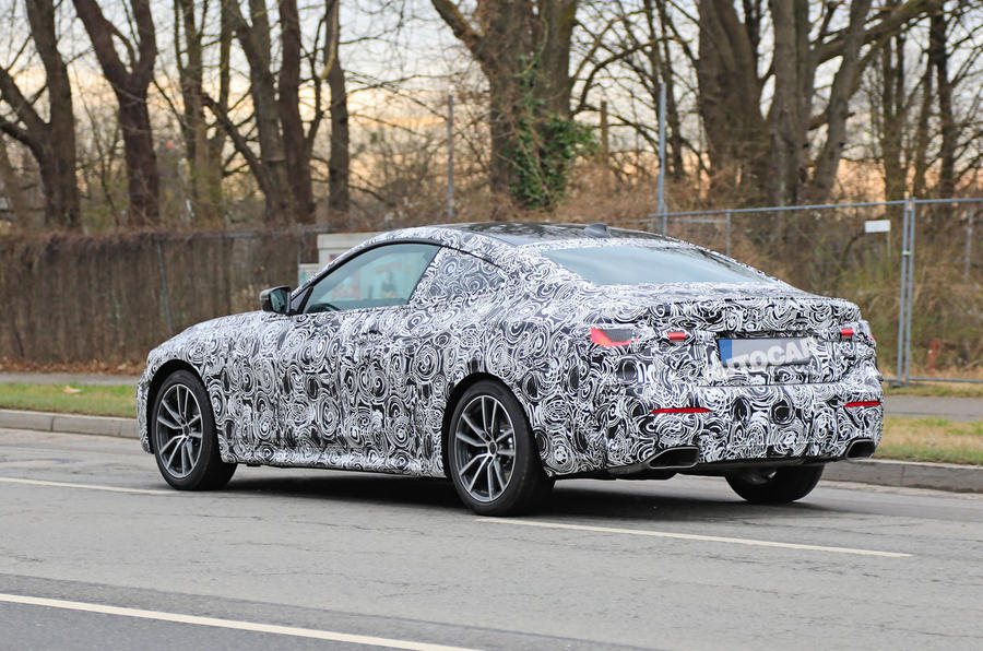 BMW 4 Series Coupe 2020 - hero rear
