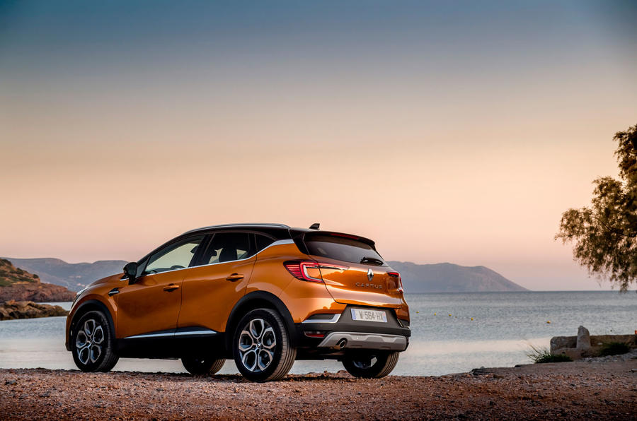 Renault Captur 2019 first drive review - static rear