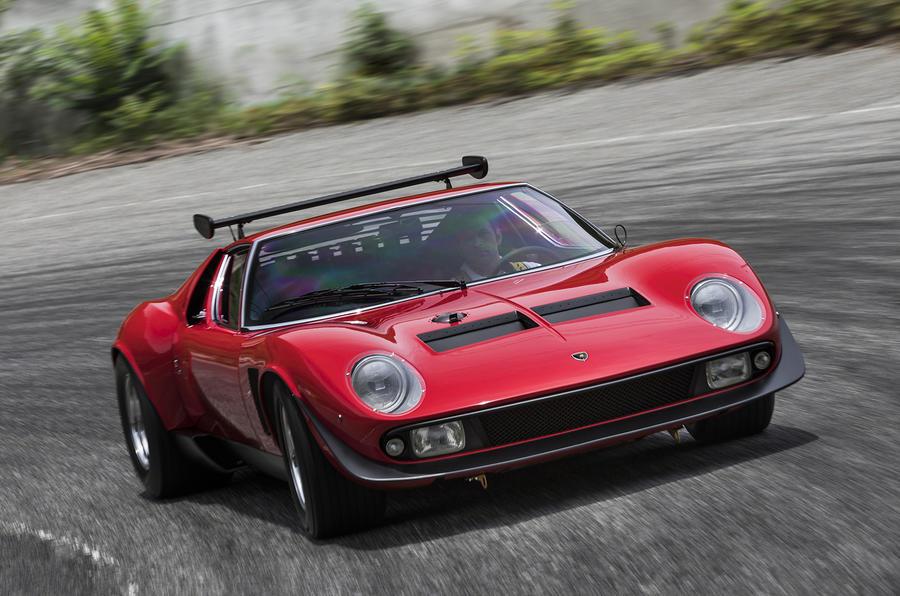Lamborghini reveals restored one,off Miura SVR