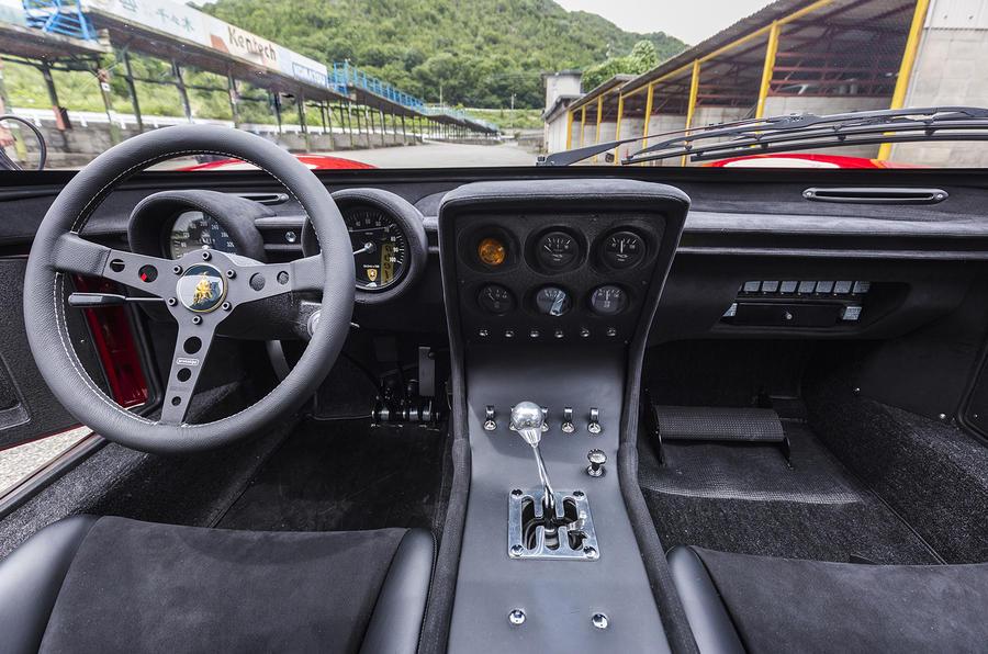 Lamborghini reveals in-house restored one-off Miura SVR