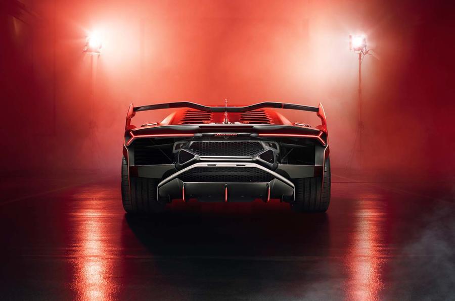 Lamborghini SC18 concept - rear