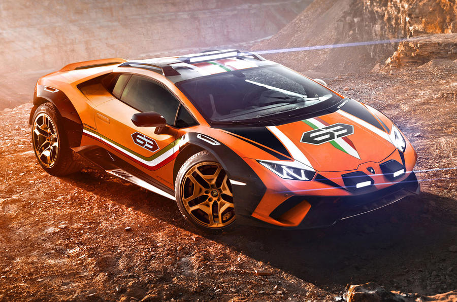 Lamborghini Sterrato concept is off,road,ready Huracan