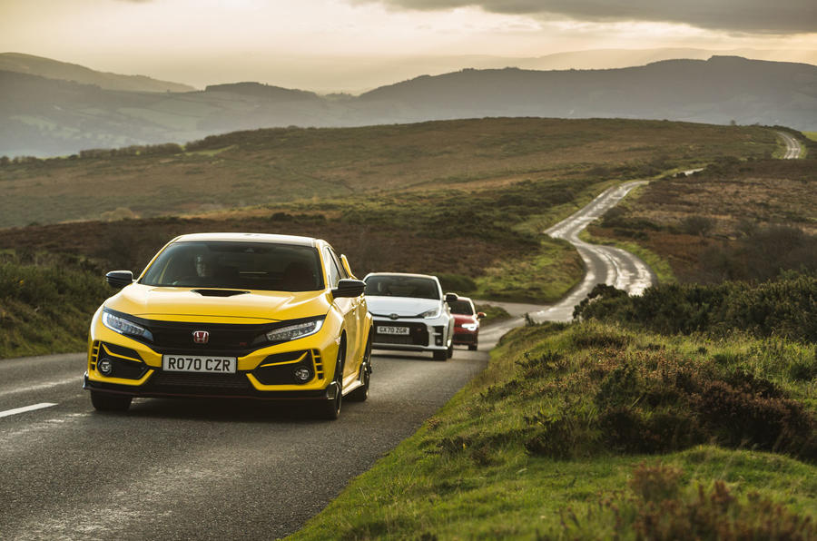 Britain's best affordable drivers car 2020 - group road