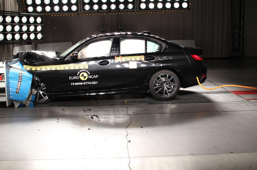 Euro NCAP crash test October 2019 - BMW 3 Series