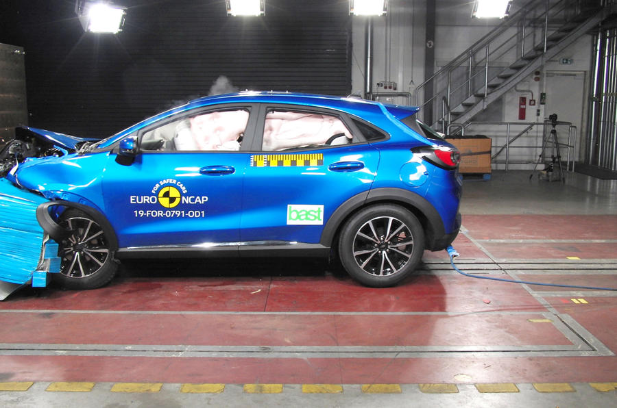 2020 Ford Puma - Euro NCAP crash tests