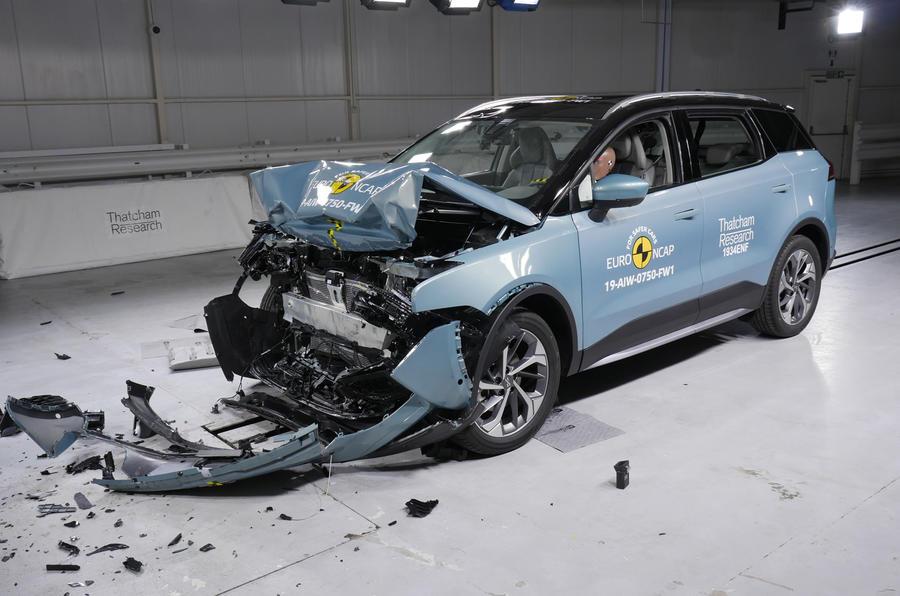Euro NCAP crash tests - Aiways U5