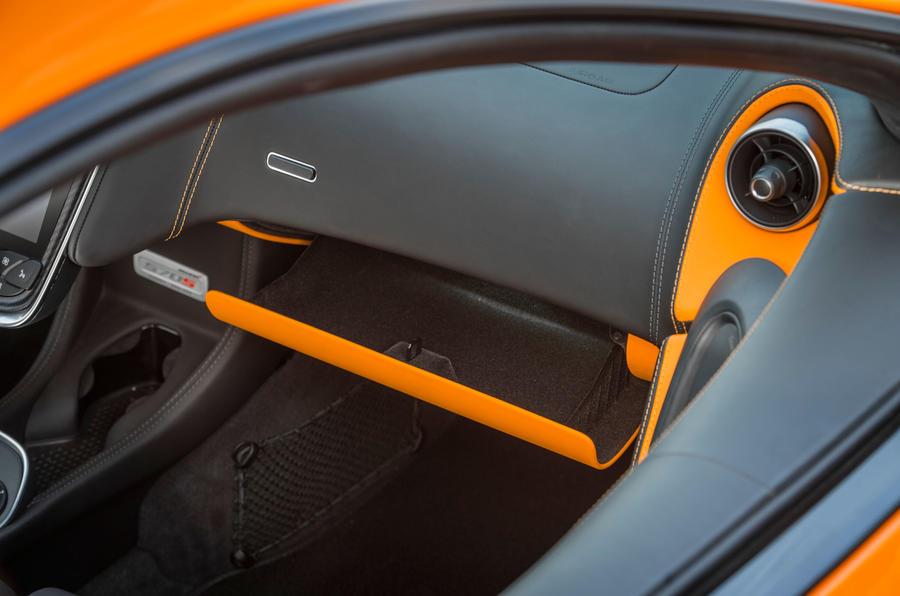 McLaren 570S air vents