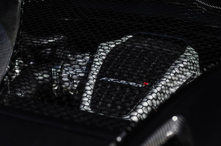 3.8-litre McLaren 570S engine