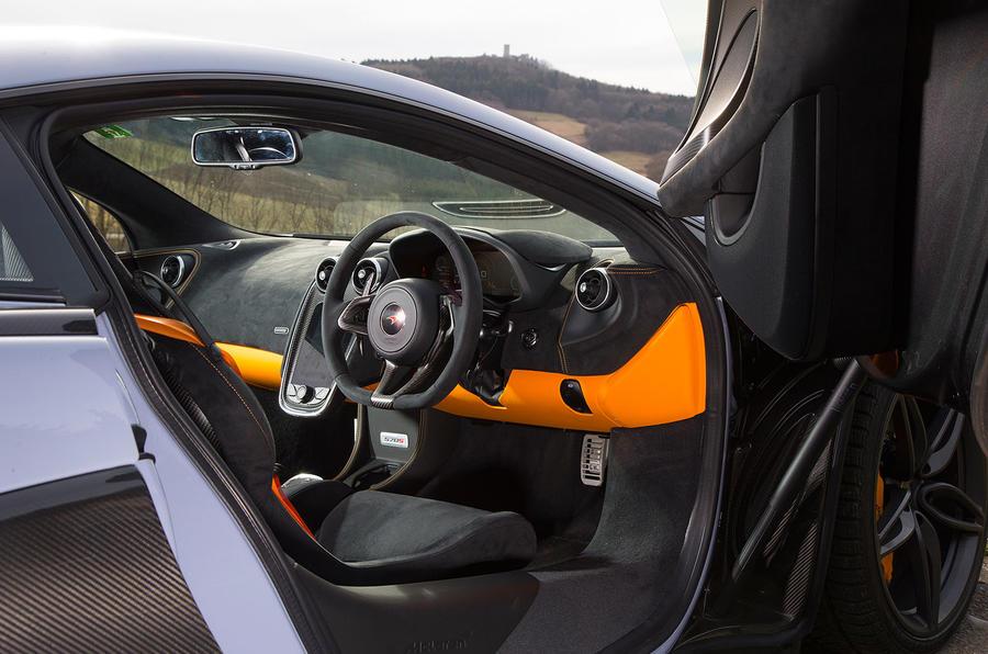 McLaren 570S Track Pack interior
