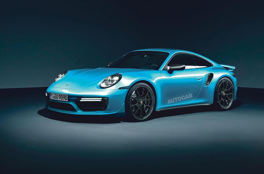 Porsche 911 GT3 render