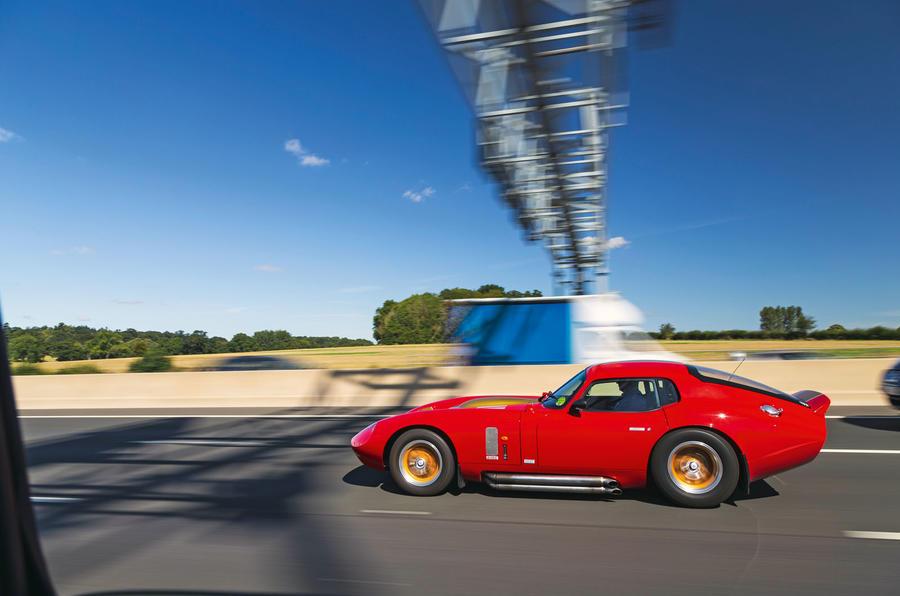 Cobra speeding side