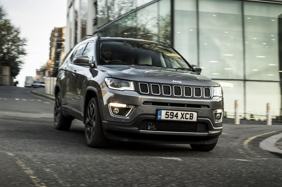 Jeep Compass 2018 UK review on the road front