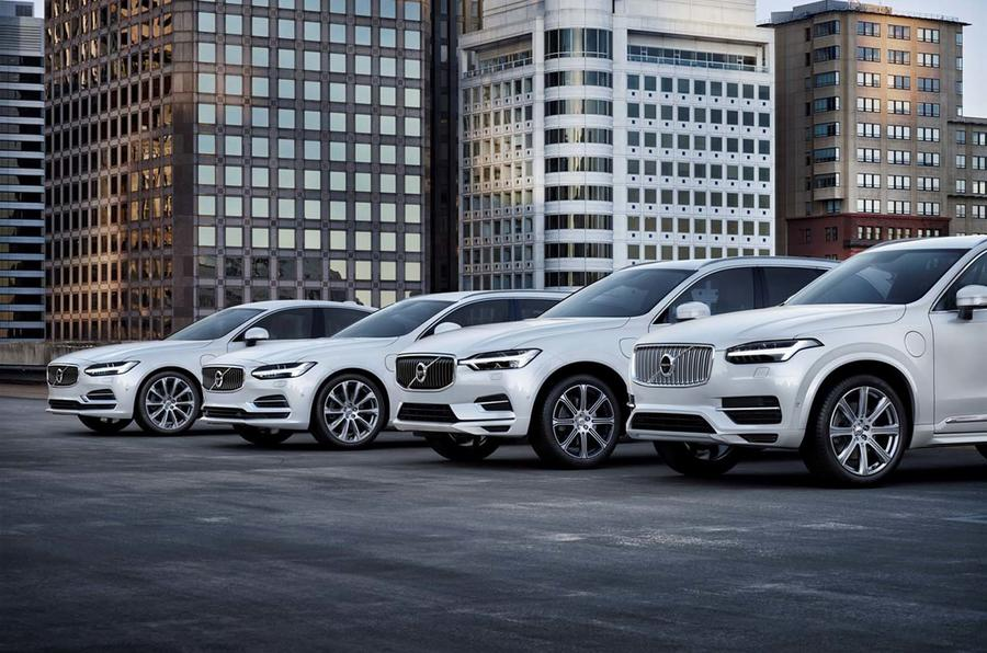 Volvo model line-up
