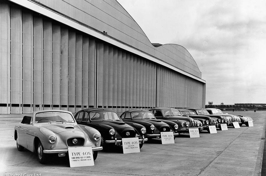 Bristol line-up - 1960s