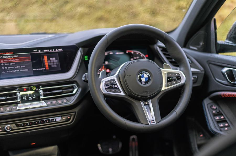 BMW M135i - interior