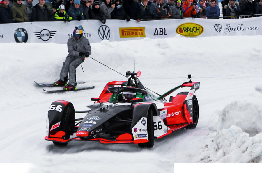 GP Ice Race Stig Blomqvist