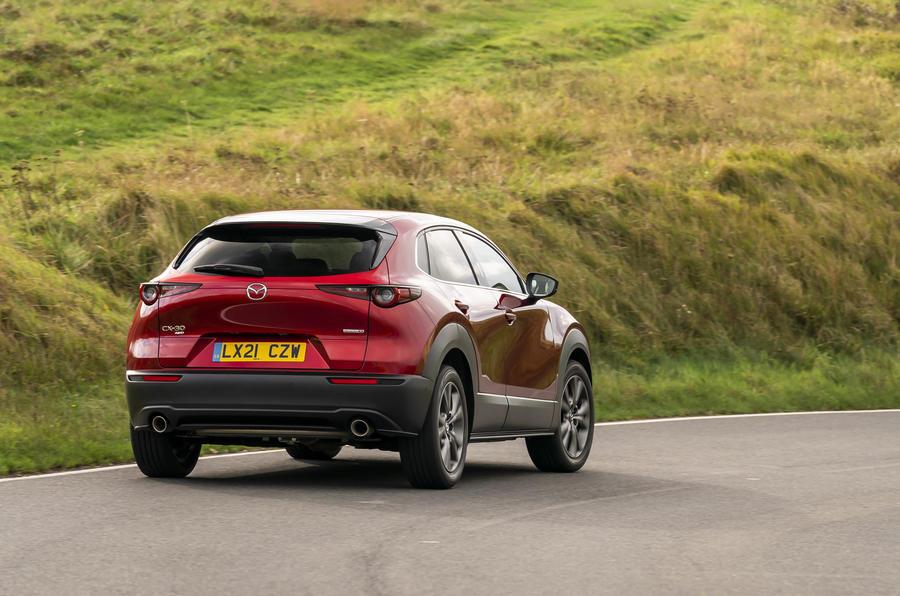 5 Mazda CX 30 Skyactiv X rearcorner