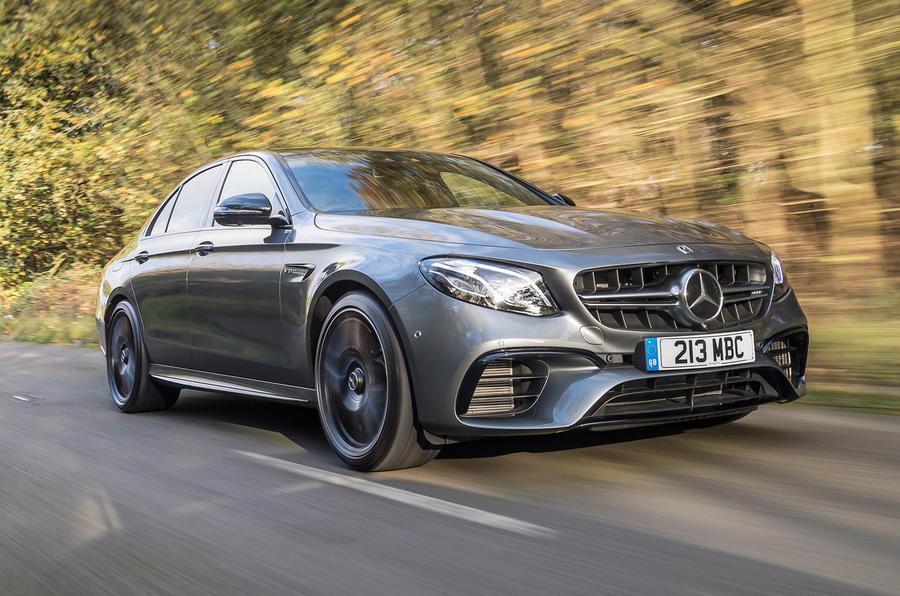Mercedes-AMG E63 - top ten super saloons